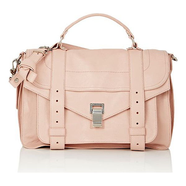 PROENZA SCHOULER Ps1 medium shoulder bag-pink - Proenza Schouler Bare Blush shiny grained leather PS1...