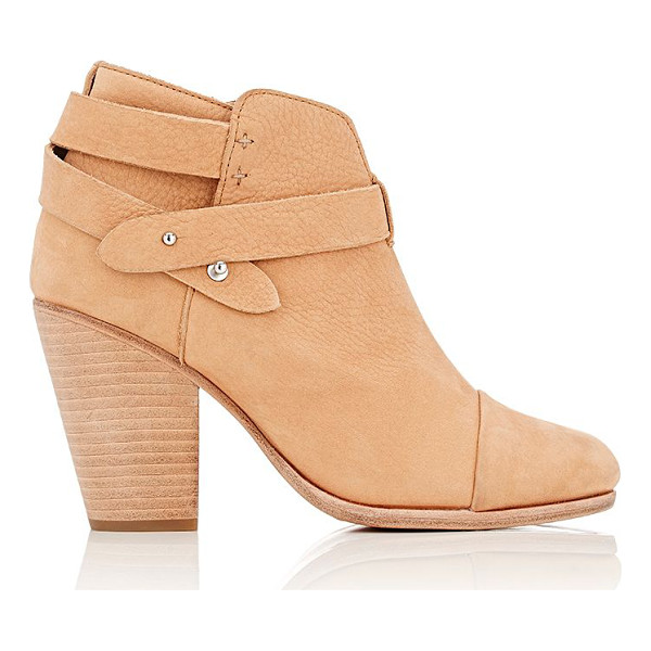 RAG & BONE Harrow ankle boots-tan - Rag & Bone tan nubuck Harrow ankle boots styled with tonal...