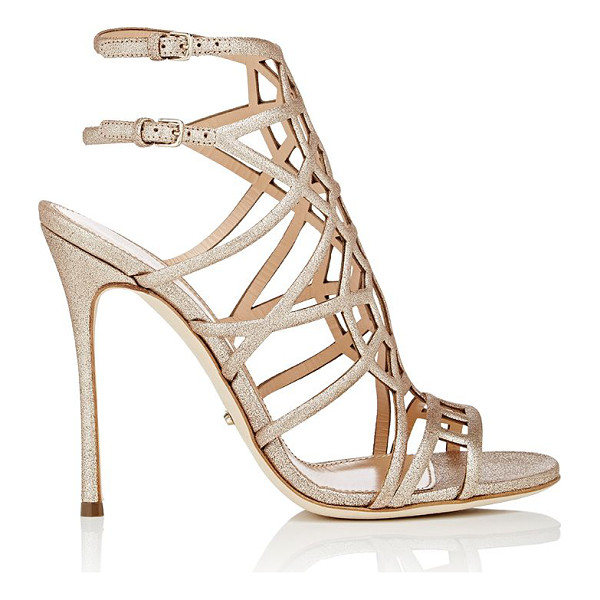 SERGIO ROSSI Puzzle sandals-gold - Exclusively Ours! Sergio Rossi gold metallic leather Puzzle...