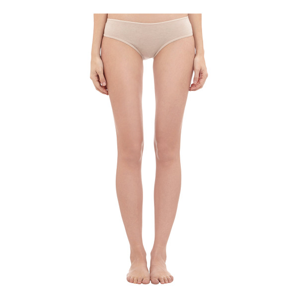 SKIN Organic cotton boyshort briefs-nude - Skin natural organic pima cotton jersey boyshort briefs....