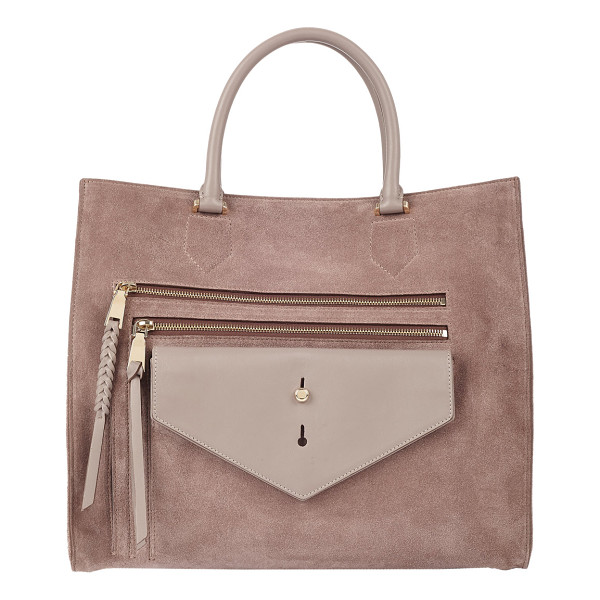 THAKOON Downing classic shopper-nude - Exclusively Ours! Part of a capsule collection of cleanly...