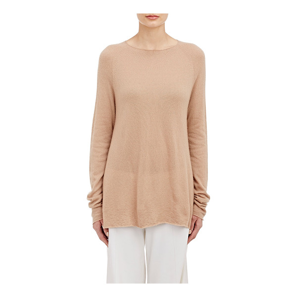 THE ROW Banny sweater-nude - The Row's light beige cashmere-silk Banny sweater....