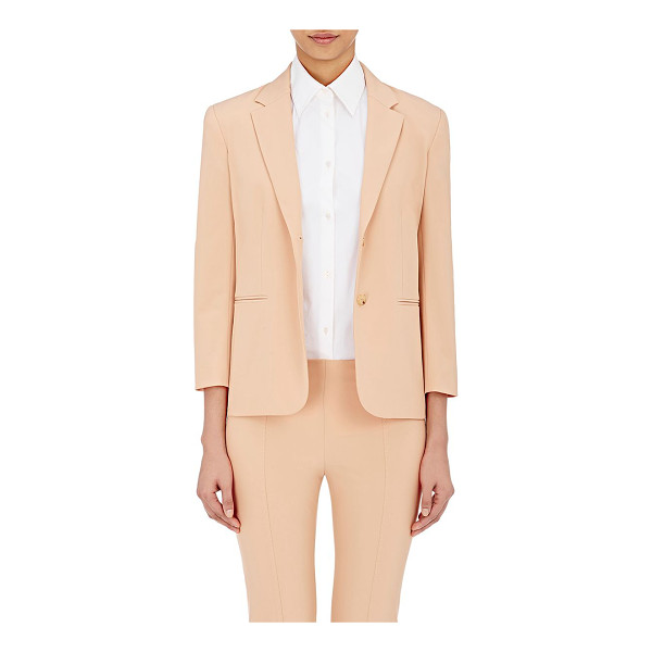THE ROW Double-stretch-twill nopman jacket-tan - The Row's two-button Nopman jacket is crafted of amber...