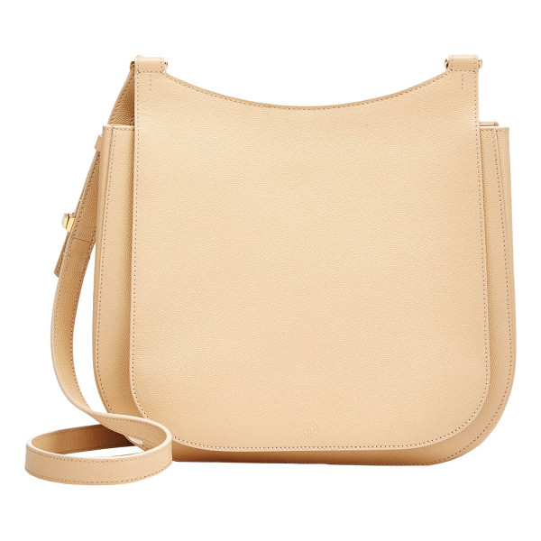 THE ROW Hunting 11 shoulder bag-nude - The Row Sugar Cane (beige) caviar-grained calfskin Hunting...