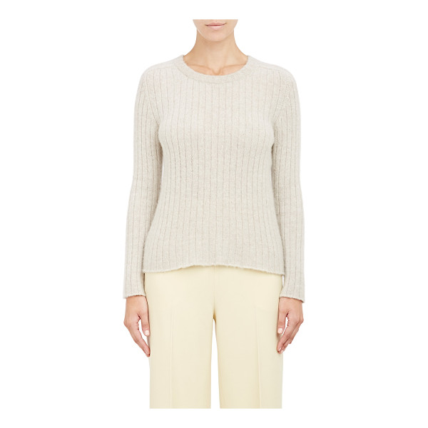 THE ROW Ribbed milo sweater-colorless - From The Row's Pre-Fall 2015 Collection, a Stone (light...