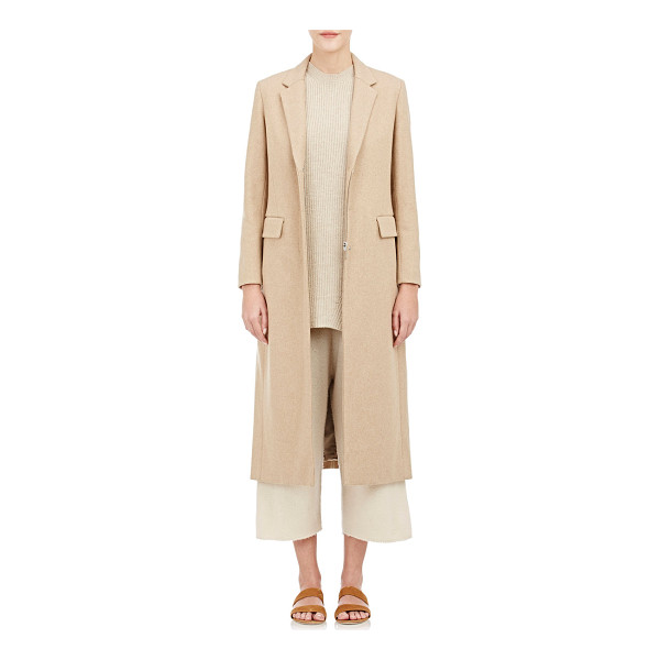 THE ROW Twill jackson coat-colorless - The Row camel wool-blend twill Jackson coat. Notch lapels,...