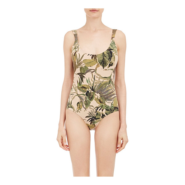 TOMAS MAIER One-piece-nude - Exclusively Ours! Thomas Maier natural and green...