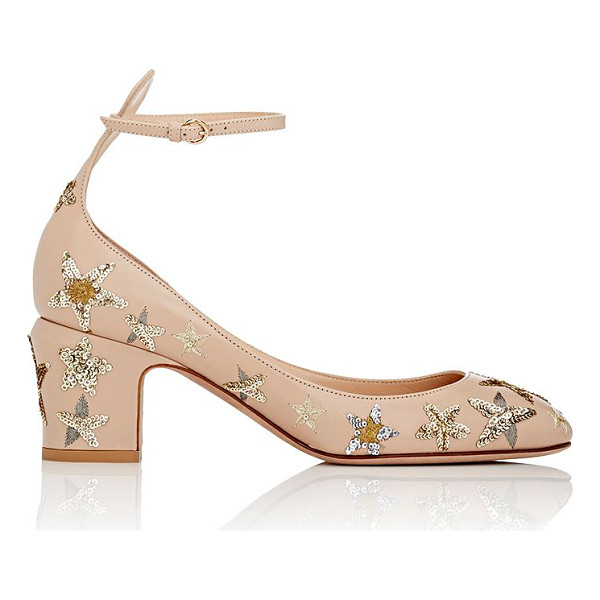 VALENTINO Tango ankle-strap pumps-pink - Valentino's Tango ankle-strap pumps are crafted of powder...