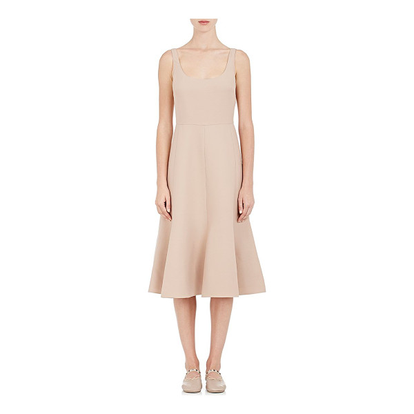 VALENTINO Wool-silk dress -light pink, nude -