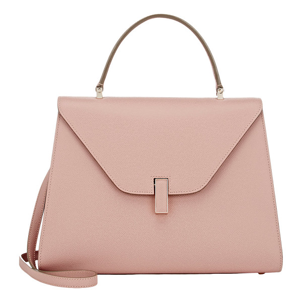 VALEXTRA Isis small bag-pink - Valextra Orchidea (dusty pink) grained leather Isis small...