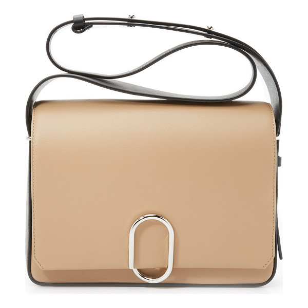 3.1 PHILLIP LIM Alix flap shoulder bag - A colorblock leather 3.1 Phillip Lim handbag with a coiled