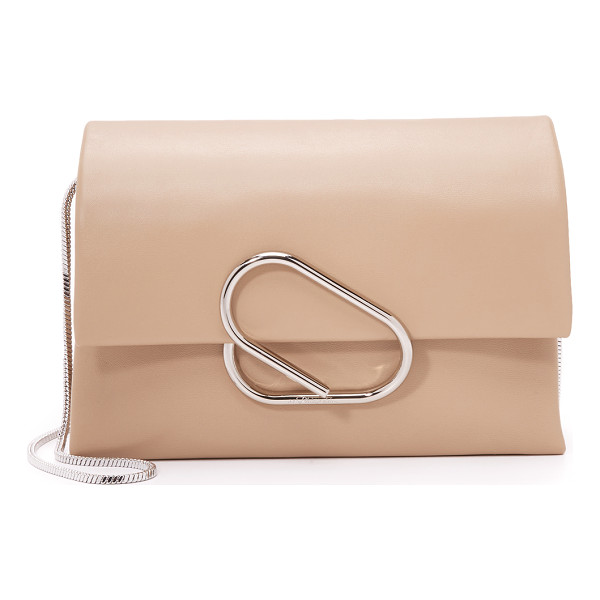 3.1 PHILLIP LIM Alix soft flap cross body clutch - A soft leather 3.1 Phillip Lim cross body bag. A sculpted