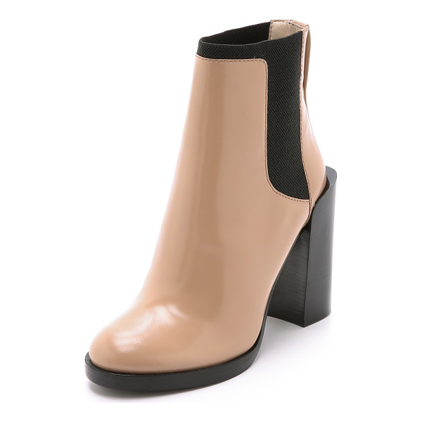 3.1 PHILLIP LIM Emerson short chelsea booties - These 3.1 Phillip Lim booties have a chunky, raised heel