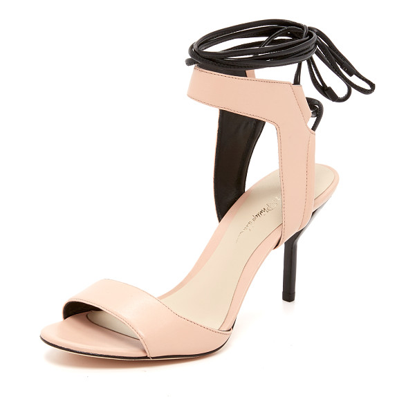3.1 PHILLIP LIM Martini ankle lace sandals - Smooth leather composes these refined 3.1 Phillip Lim