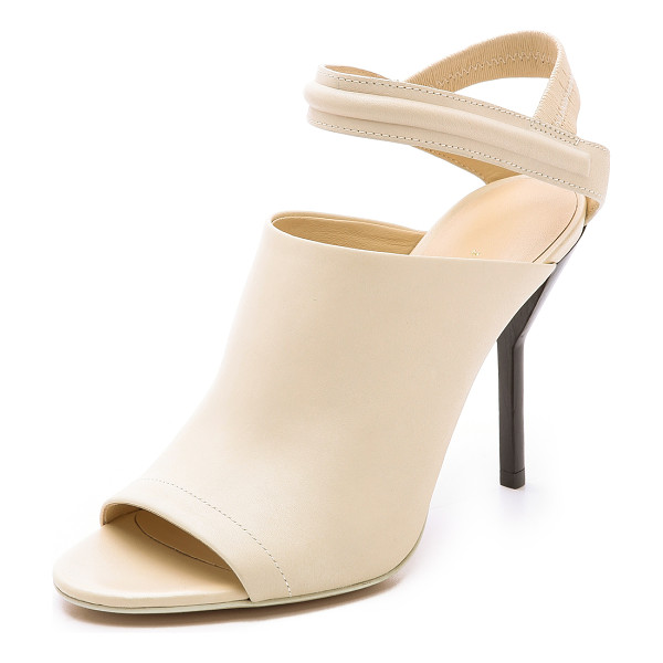 3.1 PHILLIP LIM Martini high heel sandals - Open toe 3.1 Phillip Lim pumps styled with a ribbed ankle...