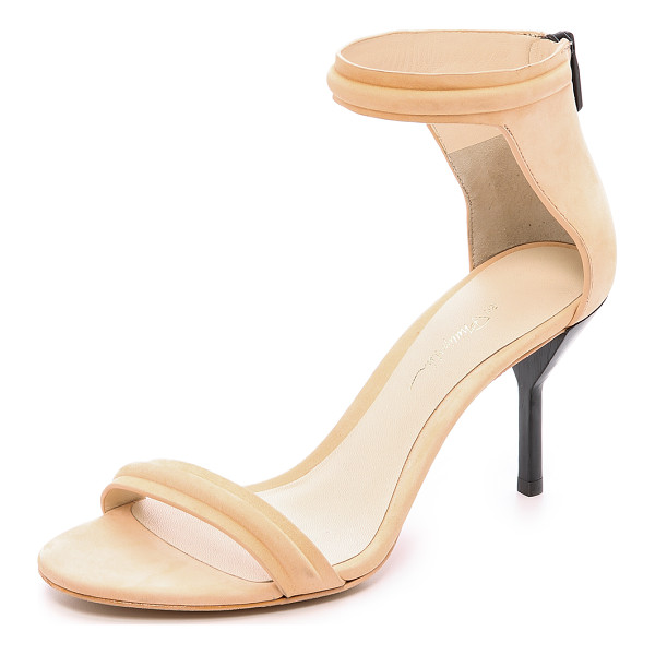 3.1 PHILLIP LIM Martini mid heel sandals - Slim, elegant 3.1 Phillip Lim sandals in velvety nubuck....