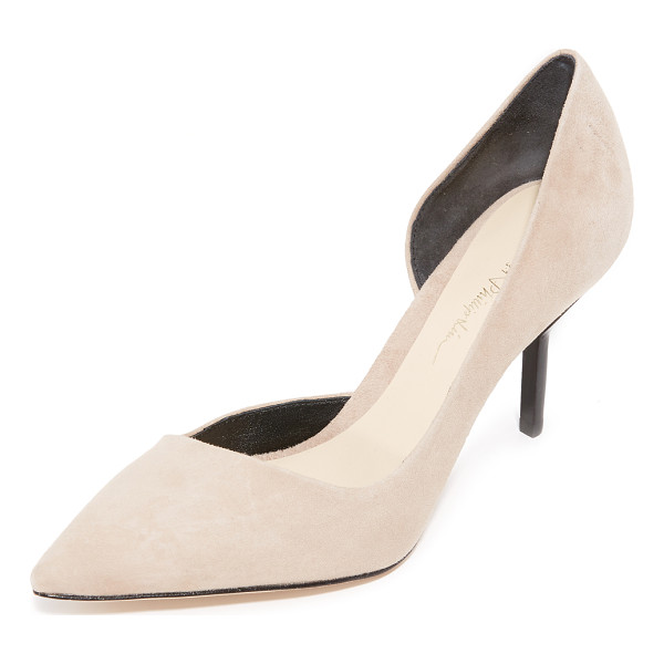 3.1 PHILLIP LIM Martini pumps - Pointed toe 3.1 Phillip Lim d'orsay pumps in luxe suede.