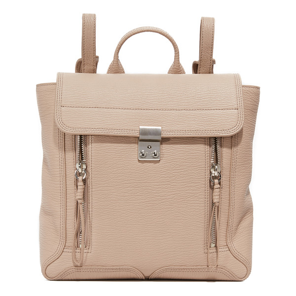 3.1 PHILLIP LIM Pashli backpack - A signature silhouette from 3.1 Phillip Lim. This ridged