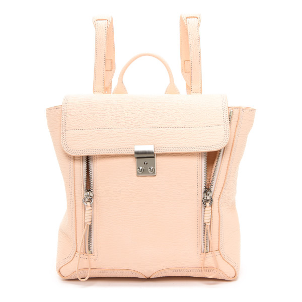 3.1 PHILLIP LIM Pashli backpack - A signature zippered style from 3.1 Phillip Lim. This