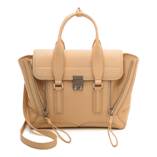 3.1 PHILLIP LIM Pashli medium satchel - The classic 3.1 Phillip Lim Pashli satchel, rendered in