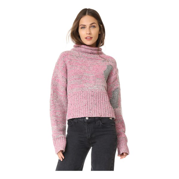 3.1 PHILLIP LIM plaited tweed cropped pullover - This marled 3.1 Phillip Lim sweater has a cropped...
