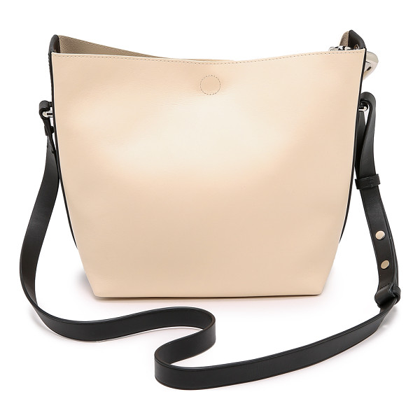 3.1 PHILLIP LIM Quill mini bucket bag - This rich leather 3.1 Phillip Lim bucket bag has a chic,