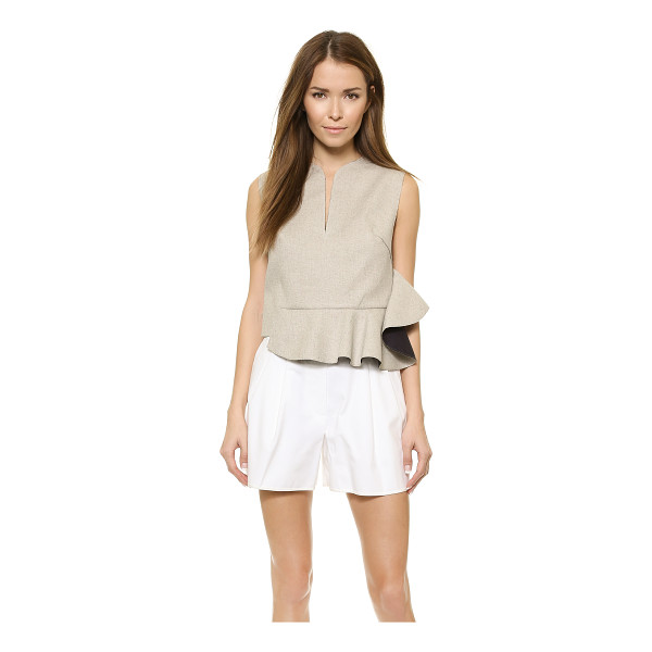 3.1 PHILLIP LIM Sleeveless ruffle crop top - This cropped, asymmetrical 3.1 Phillip Lim tank is charming...