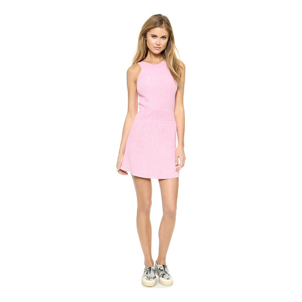 3.1 PHILLIP LIM Sleeveless sweater dress - Ribbed knit lends soft texture to a marled 3.1 Phillip Lim...
