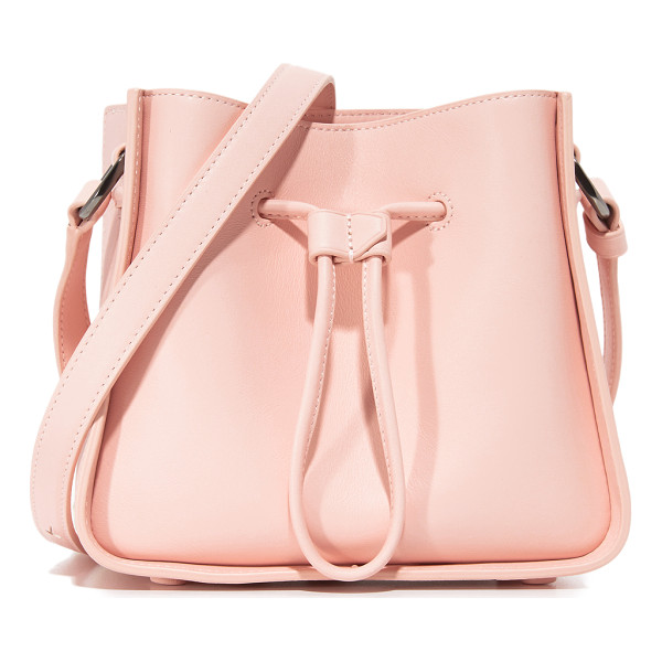 3.1 PHILLIP LIM soleil mini bucket drawstring - A boxy 3.1 Phillip Lim bag in smooth leather. Drawstring