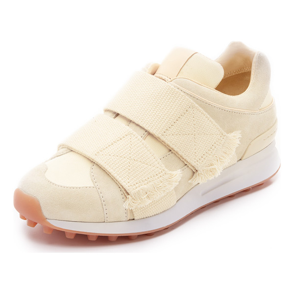 3.1 PHILLIP LIM Trance sneakers - Suede and mesh panels compose the upper on these low top