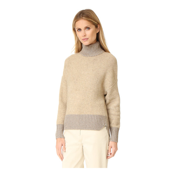 3.1 PHILLIP LIM turtleneck cocoon pullover - A luxe double knit 3.1 Phillip Lim sweater with shimmering,...