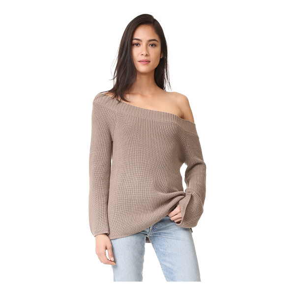 525 AMERICA off shoulder sweater - A slouchy off-shoulder sweater from 525 America. Ribbed...