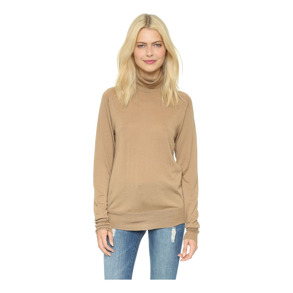 6397 Turtleneck sweater - A lightweight, fine gauge 6397 turtleneck sweater in a...