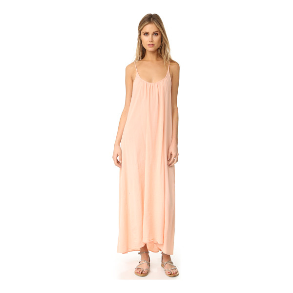 9SEED tulum maxi dress - A feather-light 9seed cover-up, cut from soft gauze.