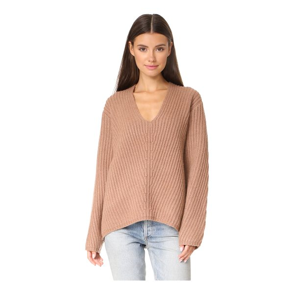 ACNE STUDIOS deborah l sweater - A substantial Acne Studios sweater with chunky ribs and a...