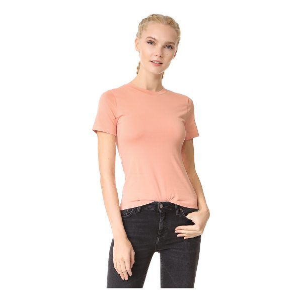 ACNE STUDIOS dorla e base tee - A simple Acne Studios tee with a contoured fit and pastel...
