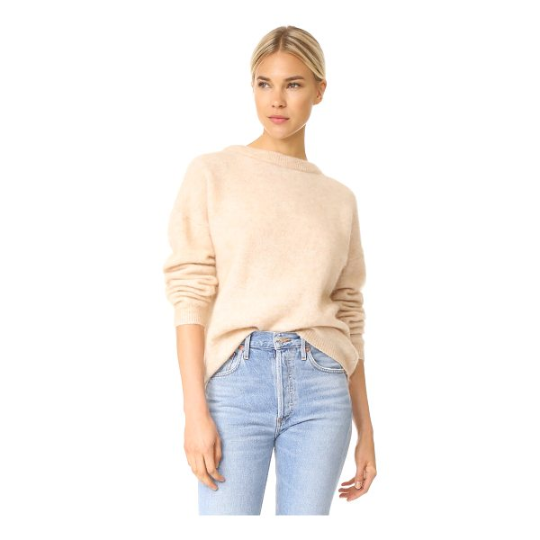 ACNE STUDIOS dramatic mohair sweater - This oversized Acne Studios sweater is composed of soft...