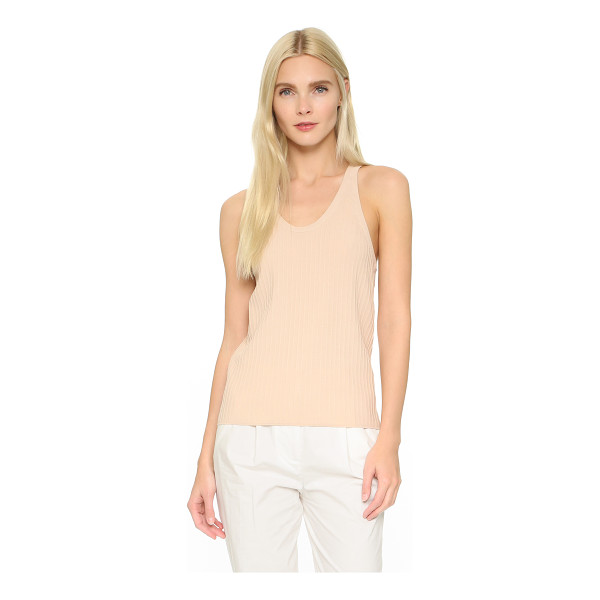 ACNE STUDIOS Iso ribbed tank - A simple Acne Studios tank, composed of slinky, ribbed...