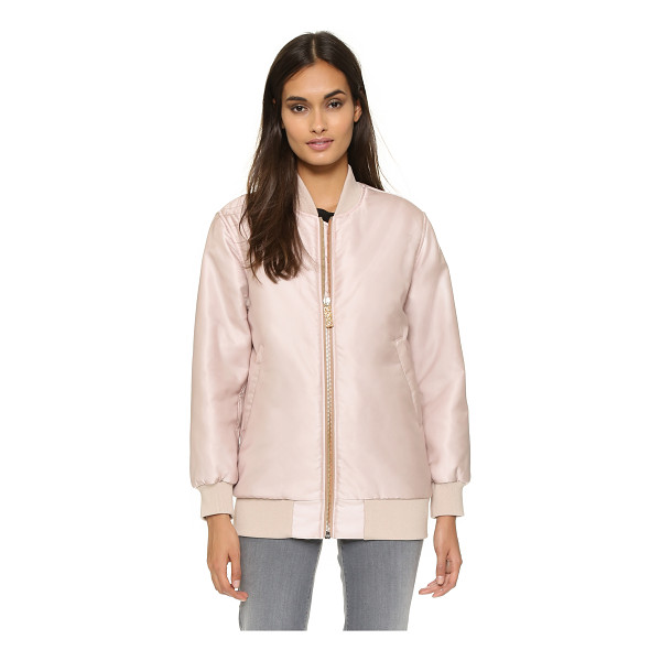 ACNE STUDIOS Selow bomber - A classic bomber jacket gains modern appeal in an oversized...