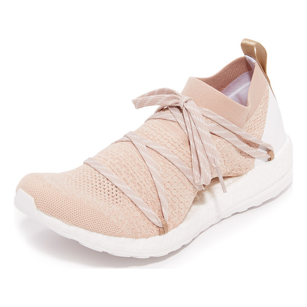 ADIDAS BY STELLA MCCARTNEY Pureboost x sneakers - Knit panels give these adidas by Stella McCartney sneakers...