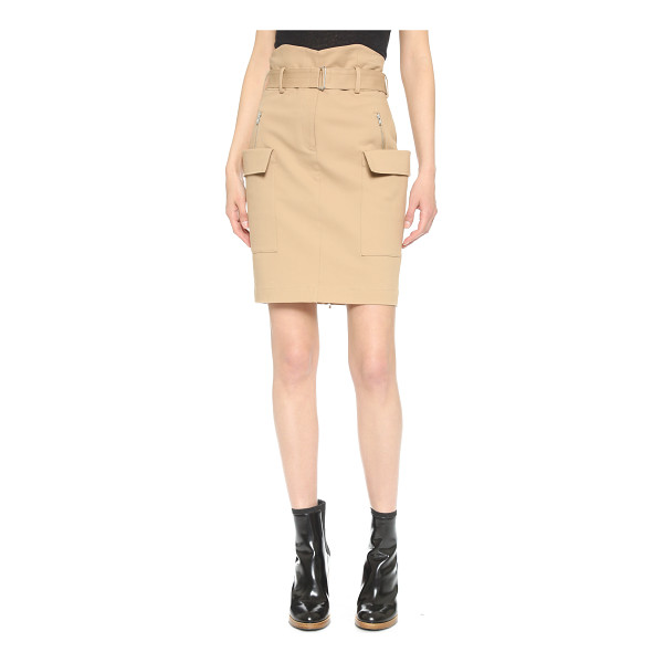 A.L.C. Alvin skirt - A pencil skirt gains a military inspired feel with side...