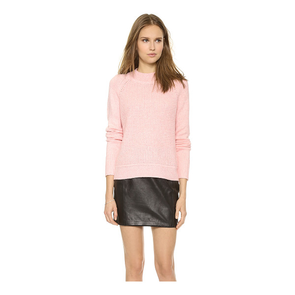 A.L.C. Jackson sweater - A raglan A.L.C. sweater in a mix of luxe, soft knits....