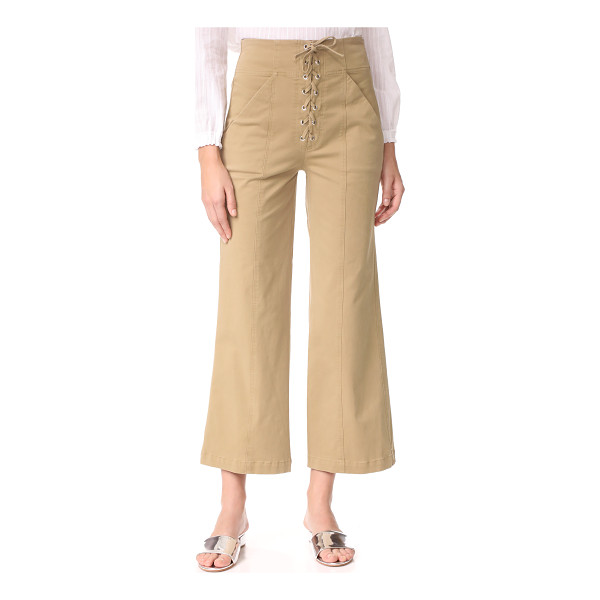 A.L.C. kyt pants - These high-waisted A.L.C. pants are cut in a wide-leg...