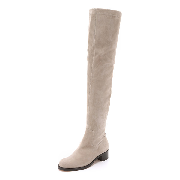ALEXA WAGNER Roxanne suede boots - These over the knee Alexa Wagner boots are made from...