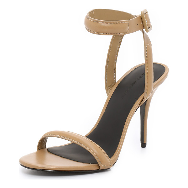 ALEXANDER WANG Antonia sandals - Sleek leather and slim, padded straps give modern Alexander...