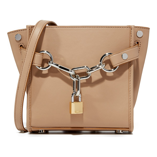 ALEXANDER WANG Attica mini chain cross body bag - A structured Alexander Wang cross body bag rendered in soft