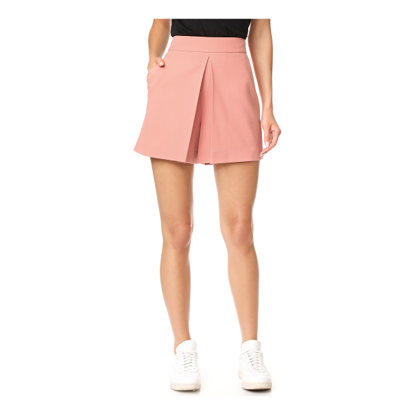 ALEXANDER WANG cropped shorts with fold front detail - These high-waisted Alexander Wang shorts have a graceful...