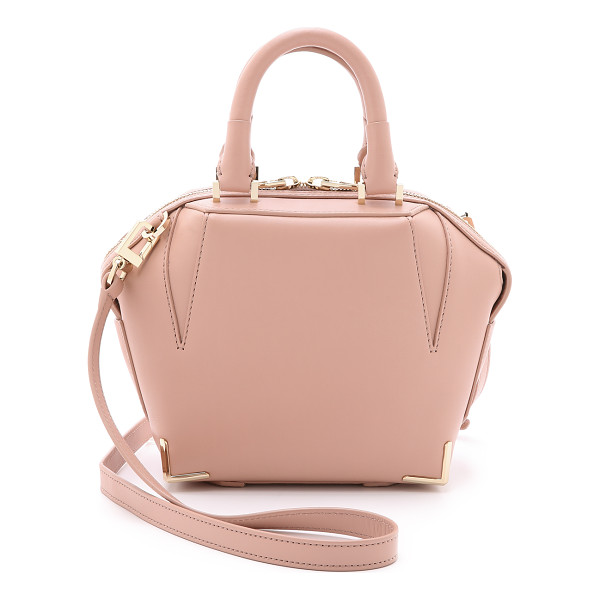 ALEXANDER WANG Mini emile cross body bag - A structured, sculptural leather Alexander Wang handbag.
