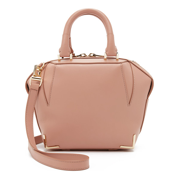 ALEXANDER WANG Mini emile tote - A structured, sculptural leather Alexander Wang handbag....