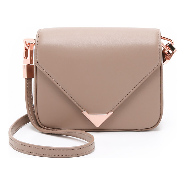 ALEXANDER WANG Mini prisma envelope cross body bag - A petite version of the Alexander Wang Prisma purse,...